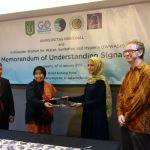MOU Dengan Universitas Nasional dan Glonal One Atasi Masalah Air, Sanitasi dan Higienitas